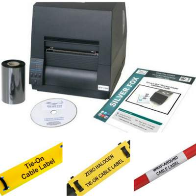 Silver Fox Cable Labels, Silver Fox Cable Markers, Power Data ...